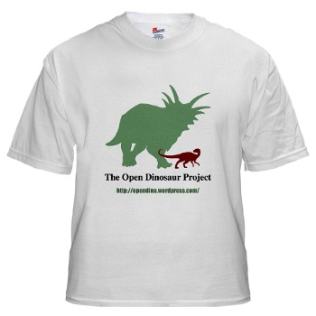 Open Dinosaur Project -- the T-shirt